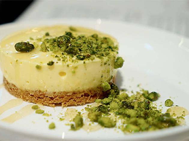Matcha tart (Ce La Vi)