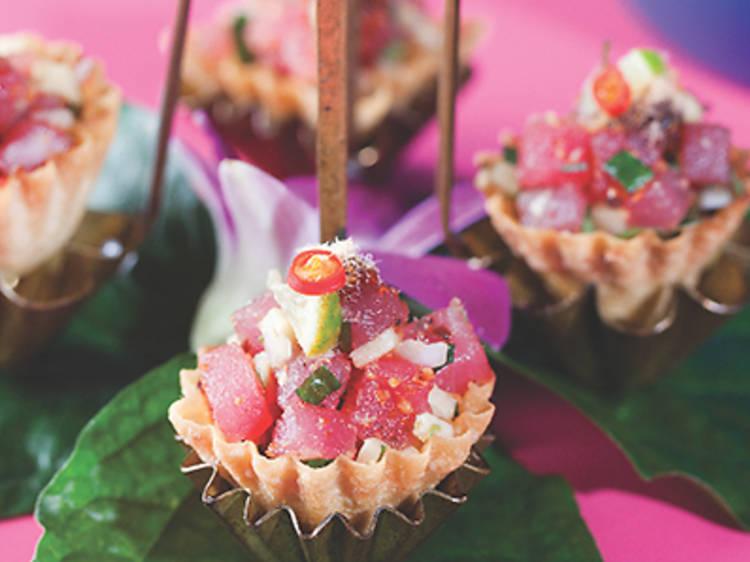Mieng tuna (Issaya Siamese Club)