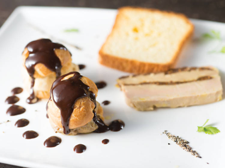 Foie gras trio (La Table de Patrick)