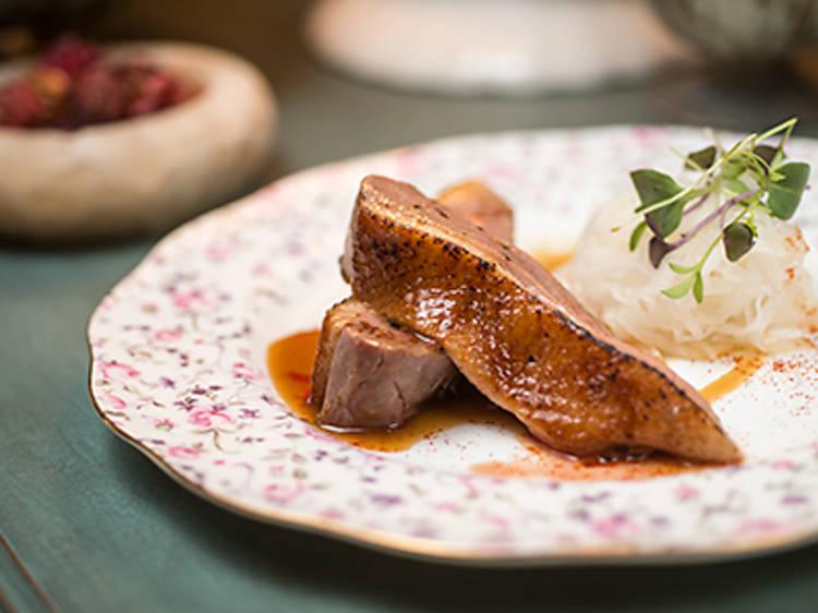 Yuzu duck breast (Maison Es)