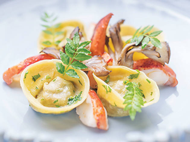 Lobster tortellini (The Ocean)