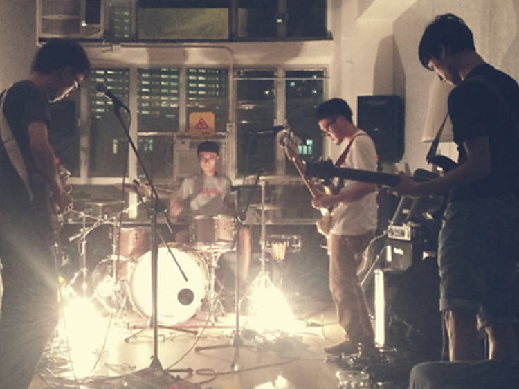 Band members, rehearsal and recording spaces