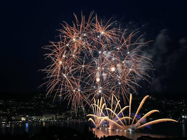 Zuri Faescht fireworks