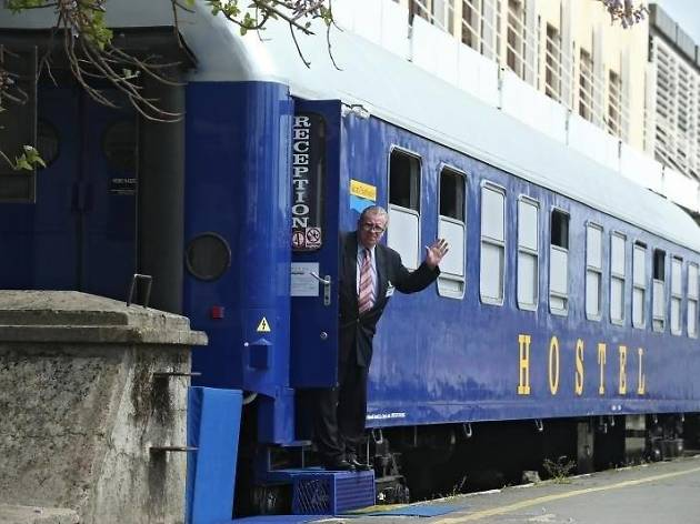 All aboard Croatia's first hostel on a train