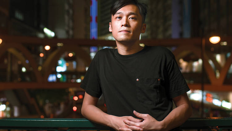 A way with words Nicholas Wong is a leading light in  Hong Kong's queer literature scene