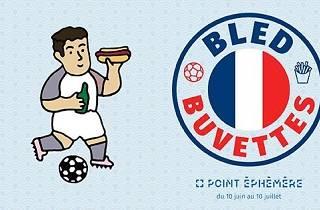 Buvette foot Euro 2016 Point Ephémère