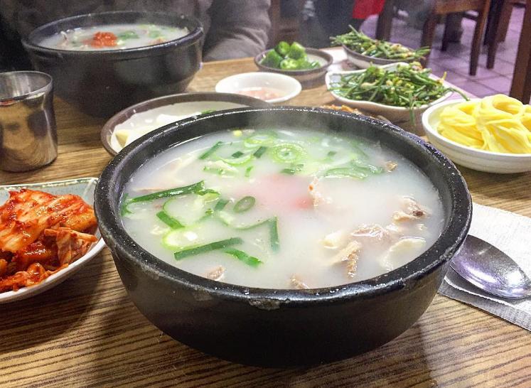 Pohang Pork Rice Soup