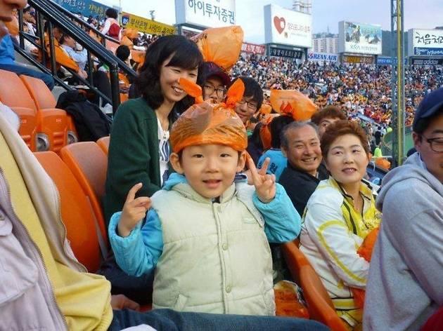 Baseball in Busan