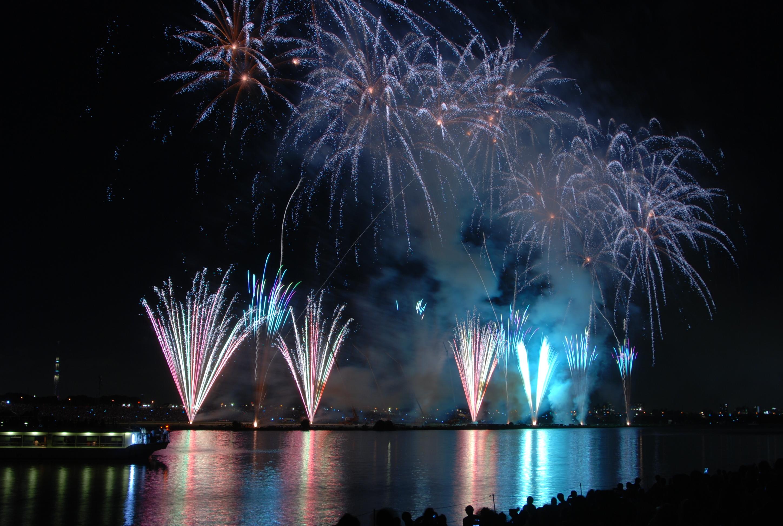 エキサイティング花火2016 第41回 江戸川区花火大会1