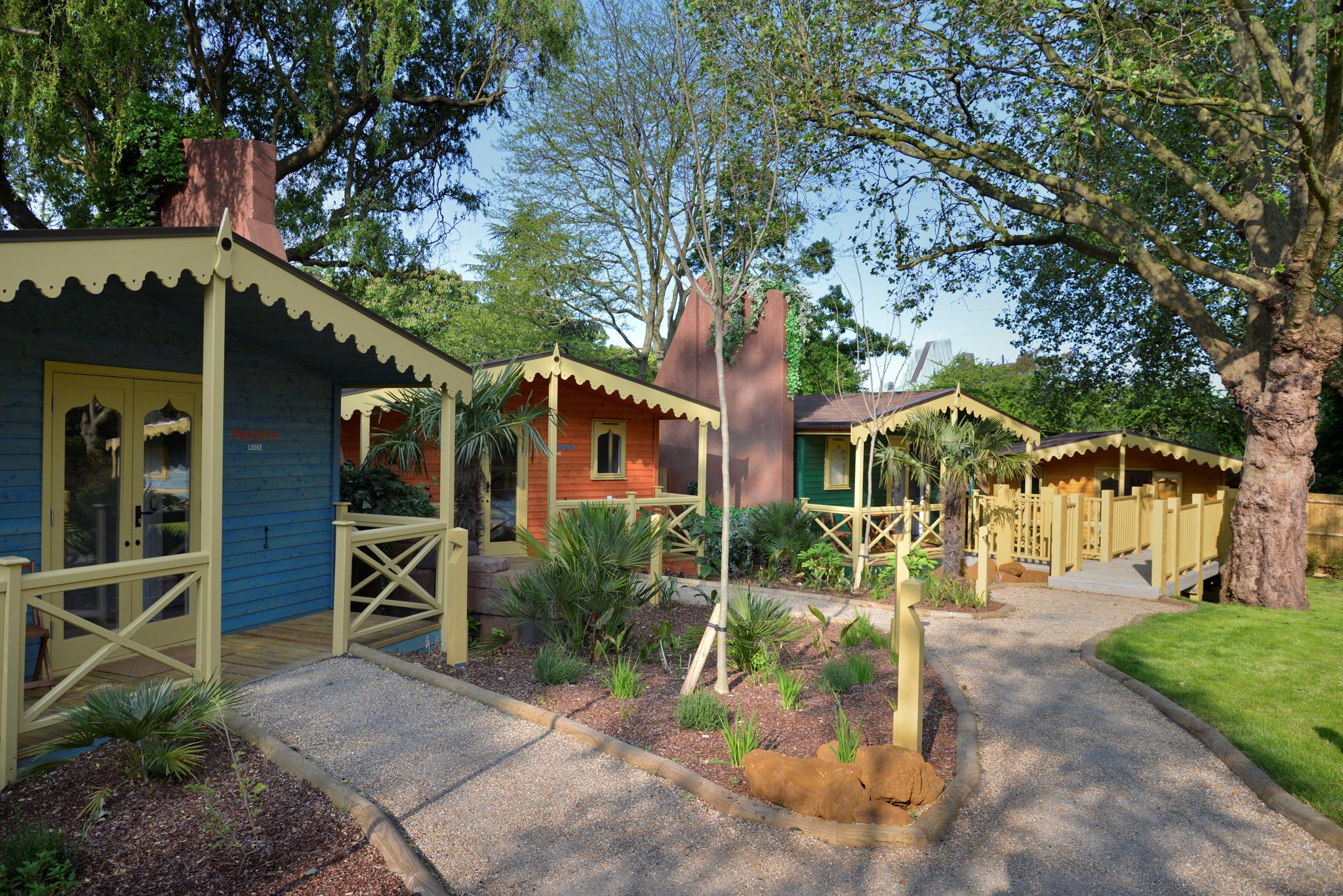 Gir Lion Lodge accommodation at London Zoo