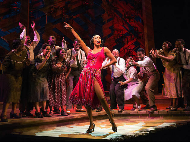 Heather Headley in The Color Purple