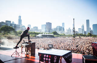 Twenty One Pilots at Lollapalooza 2015