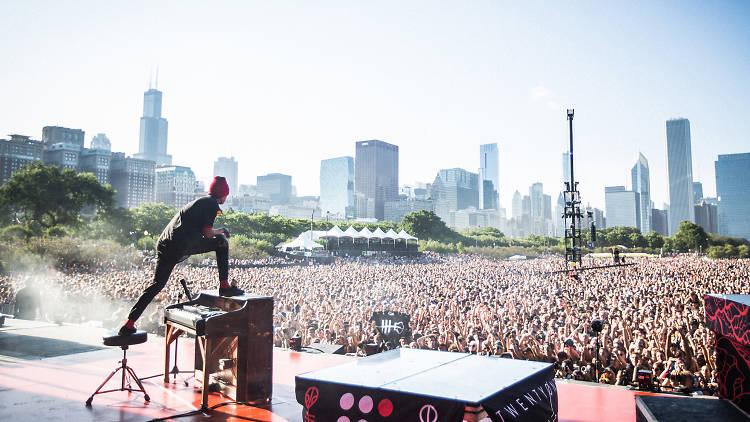 Twenty One Pilots at Lollapalooza 2015
