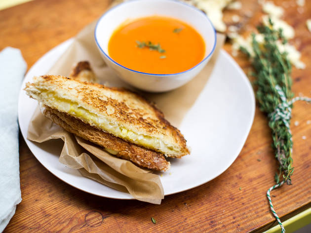 The best grilled cheese in NYC
