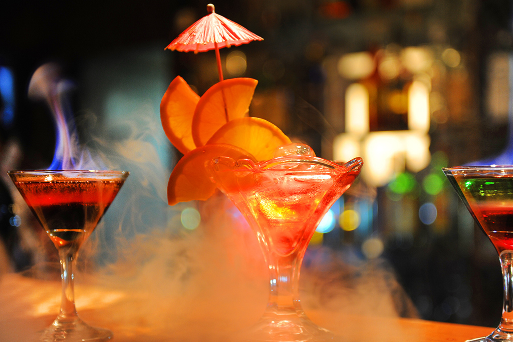 The eight best flaming cocktails in NYC