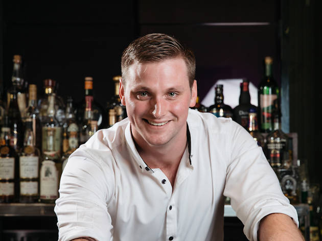 Portrait of Andrew Mae from The Bar, Park Hyatt Sydney
