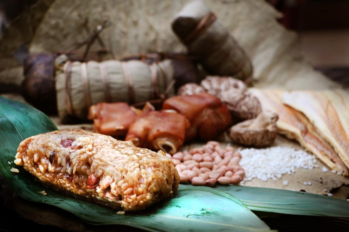 Pork trotter dumpling from Hua Ting Restaurant