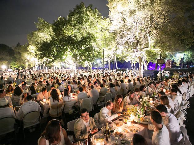 Diner En Blanc 2013 Mexico City