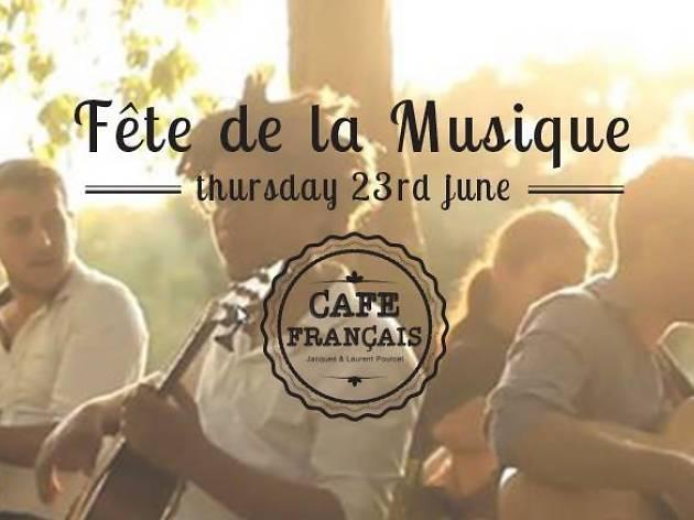 Fête de la musique with Gala Swing Quartet
