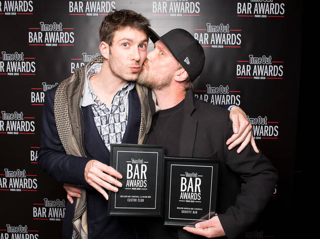 Bar Awards 1 (Time Out Paris Bar Awards winners Castor Club and Gravity Bar © Anthony Micallef)