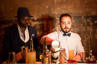 Bar Awards 2 (MAZE mixologists whip up a special 'Time Out Stormy' cocktail @ Anthony Micallef)