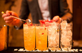 Bar Awards 3 (The 'Time Out Stormy' (rum, ginger beer, tea syrup, pomegranate) © Anthony Micallef)