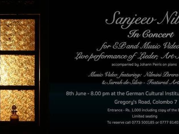 Sanjeev Niles in Concert