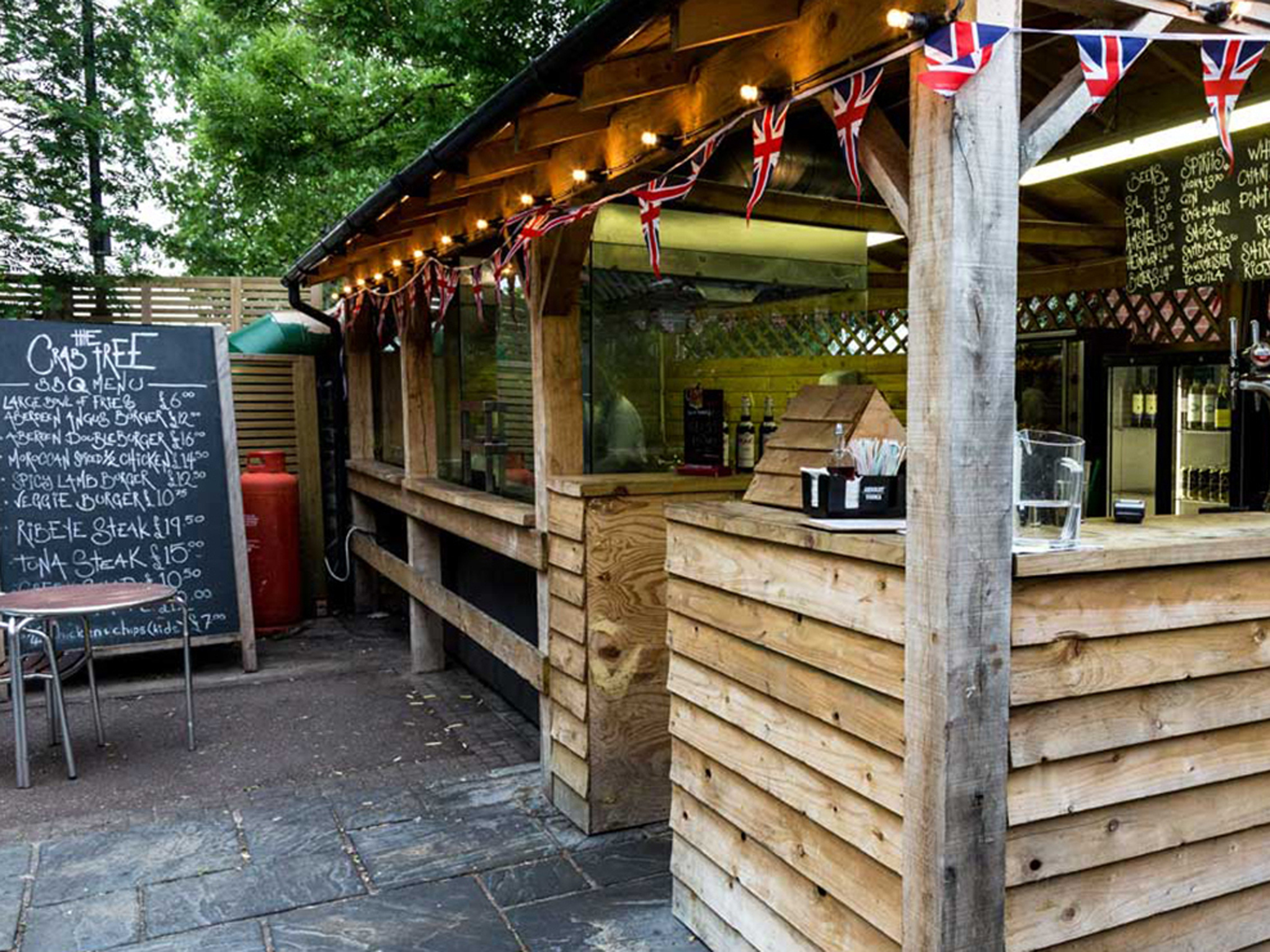 london's best barbecues, crab tree