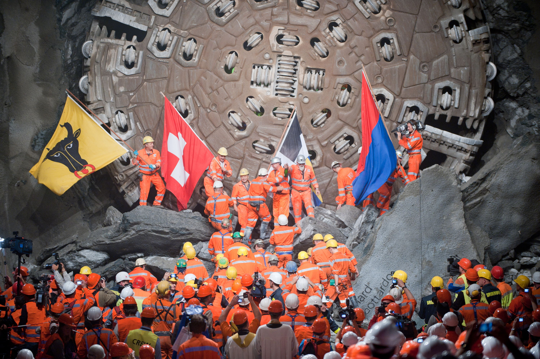 The world's longest train tunnel is now open