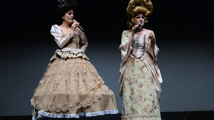 Las reinas chulas en Yovoyalteatro