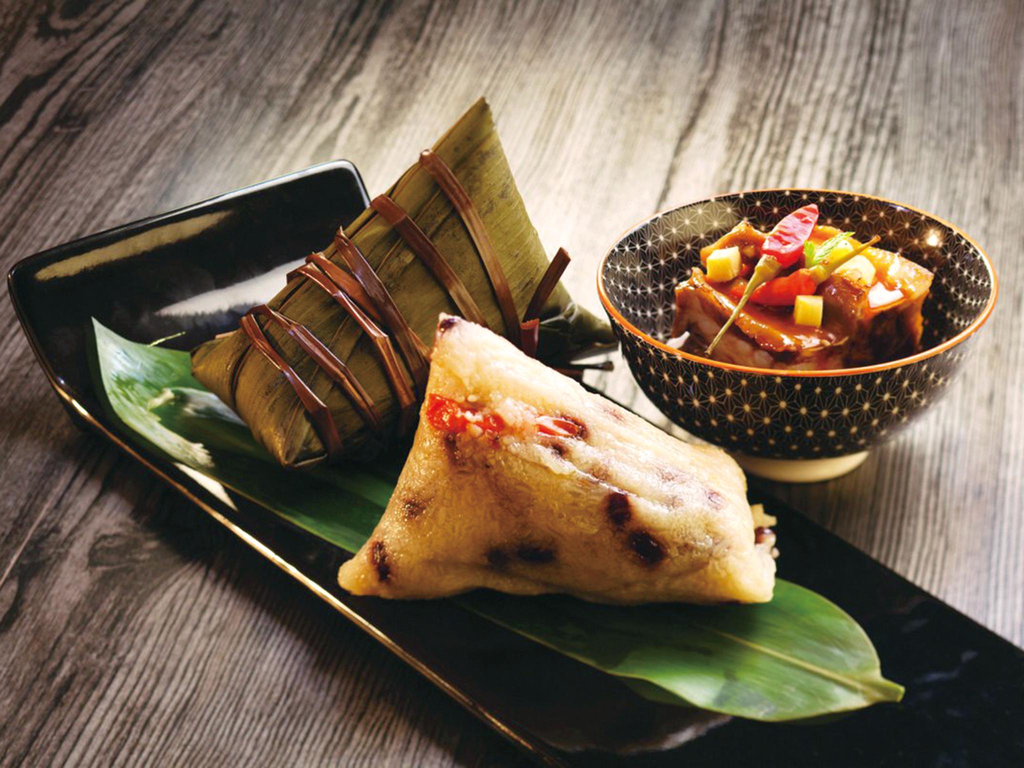 Tuen Ng Festival rice dumplings
