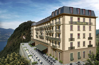 A Tour of the Bürgenstock Resort Development