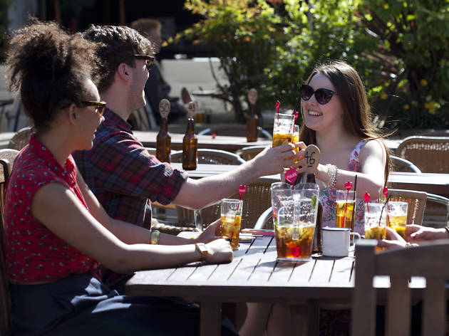 london's best barbecues, county arms
