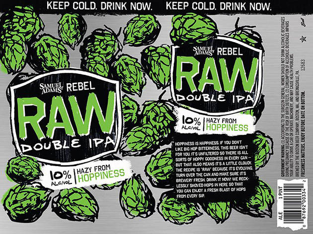 Rebel Raw Double IPA, Samuel Adams