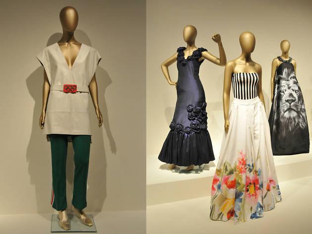 Vestidos de la exposición El arte de la indumentaria en México