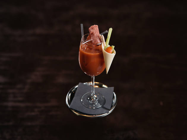 The Reuben Mary Cocktail
