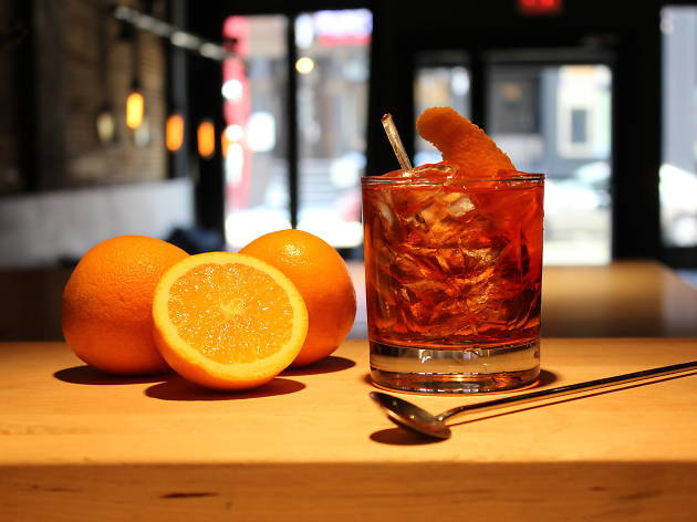 Negroni Week at Winstons Coffee