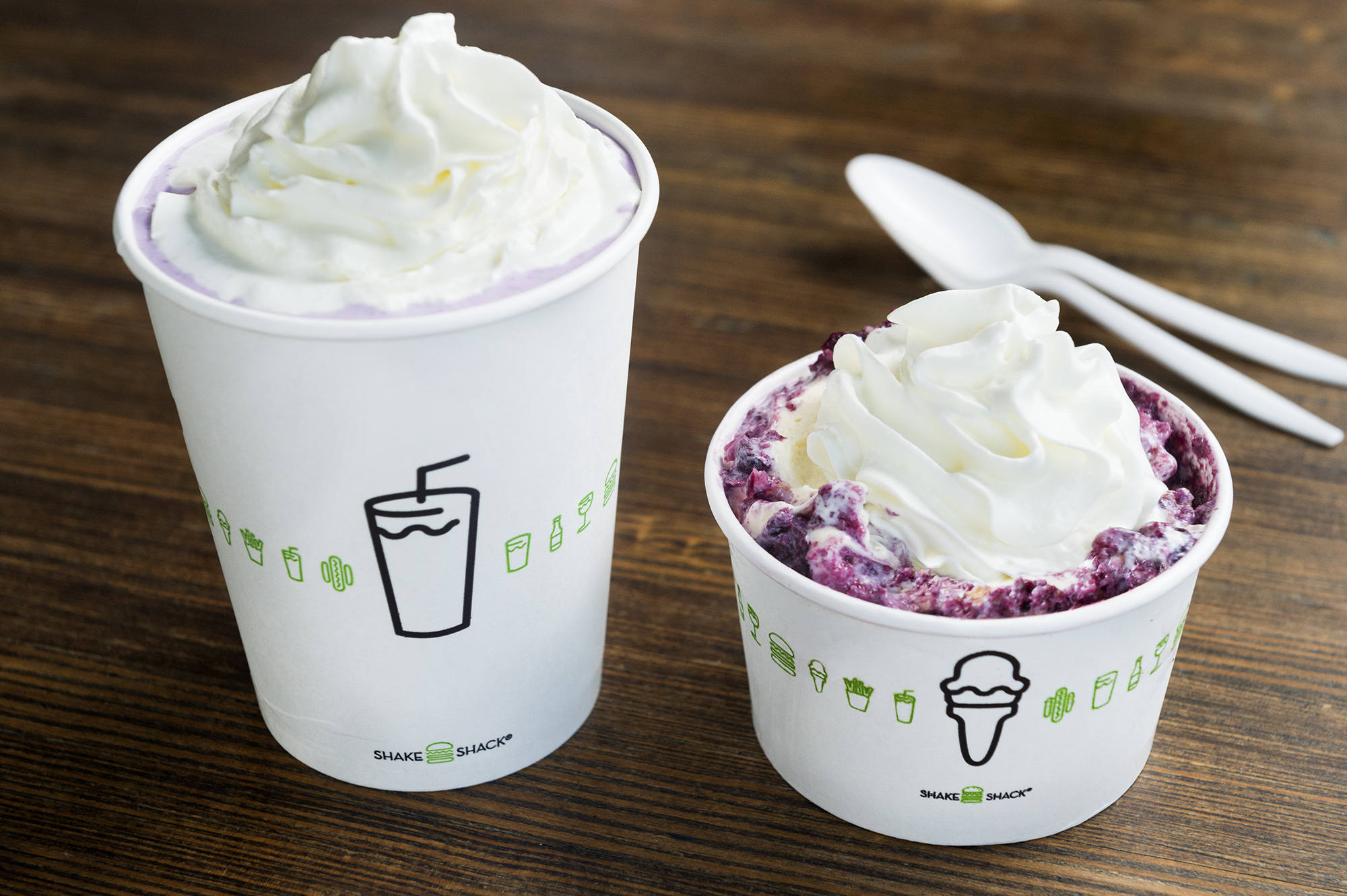 Blueberry Pie Oh My at Shake Shack