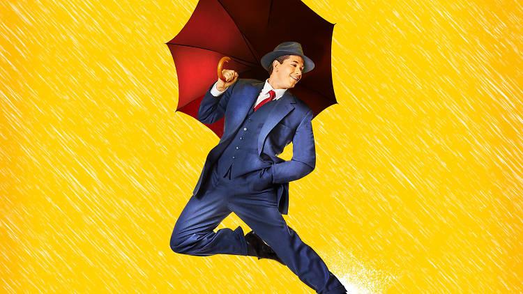 Adam Garcia in Singin' in the Rain