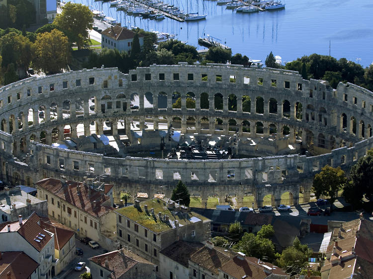 Explore Croatia's Colosseum