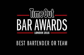 time out london bar awards, best bartender or team