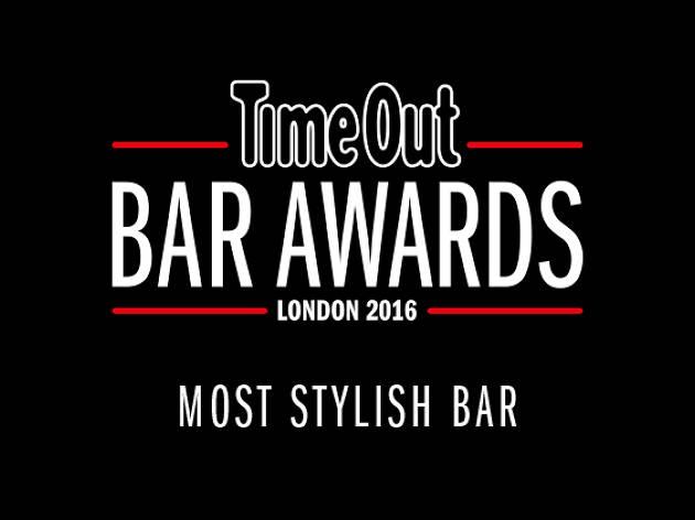 Time out london bar awards, most stylish bar