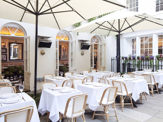 London's best outdoor dining, Boulestin