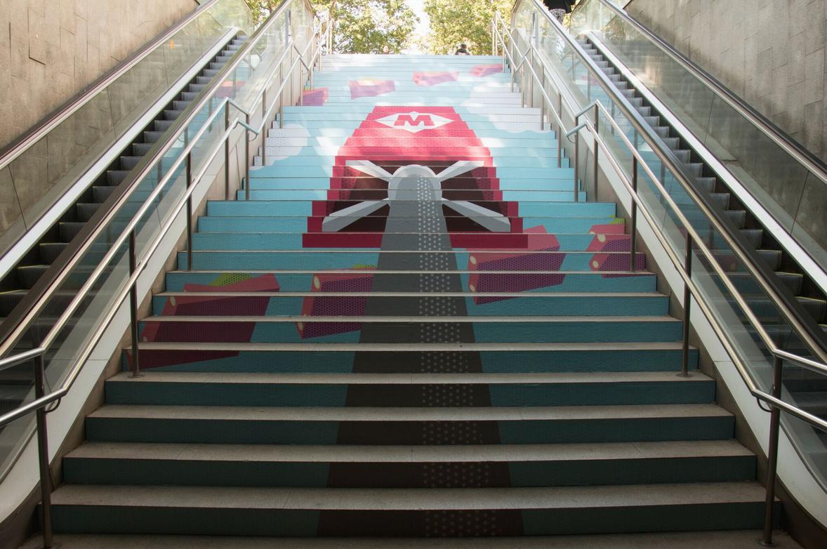 swab stairs 2016