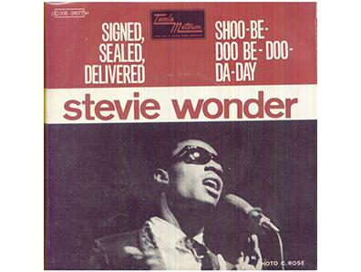 """""""Signed, Sealed, Delivered I'm Yours"""" by Stevie Wonder"""