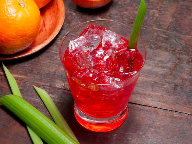 The Anderson Celery Negroni