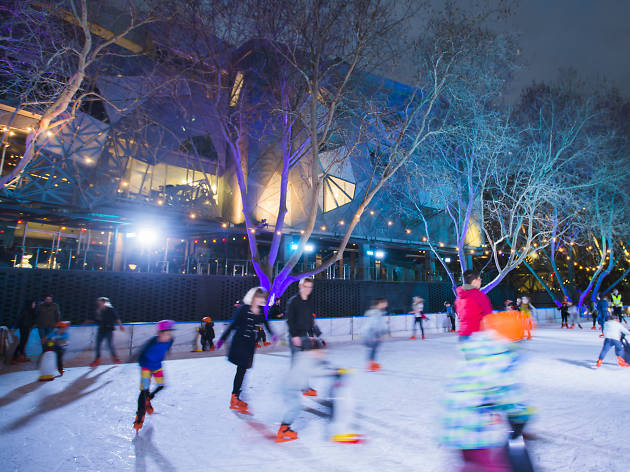 River Rink at Federation Square