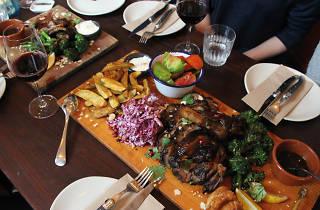 Sunday roast at Wilhelmina's
