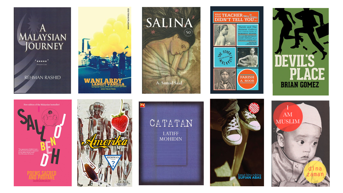 Ten essential books by Malaysians for Malaysians
