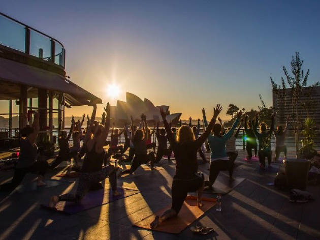 Sunrise Rooftop Yoga
